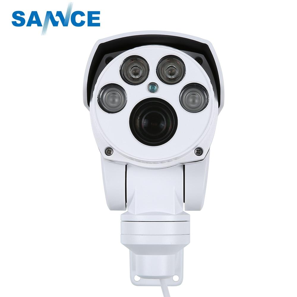 SANNCE Full HD 1080P AHD Camera 4in1 Autofocus Varifocal 5-50mm 10X Digital Zoom Pan/Tilt Bullet PTZ Camera IP66 In/outdoor цена и фото