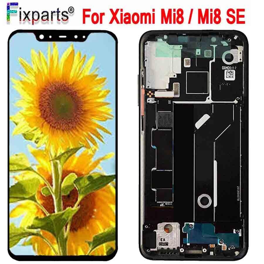 Amoled écran Xiao mi 8 LCD mi 8 Explorer affichage numériseur assemblée écran tactile remplacement 6.21
