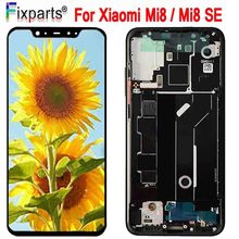 Amoled Screen For Xiaomi Mi 8 LCD Display Digitizer Assembly Touch Replacement 6.21 Mi8 SE