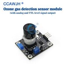 Módulo sensor de detecção de gás de ozônio gama de concentração de detecção: 1 1000ppb + frete grátis