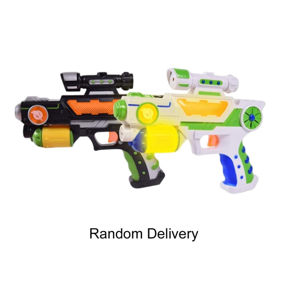 Drop Shipping Role Play Games Electric Toy Gun Luminous Flash Light Music Guns Boy Toys Pistol Fun Outdoor Game Shoot Orbeez