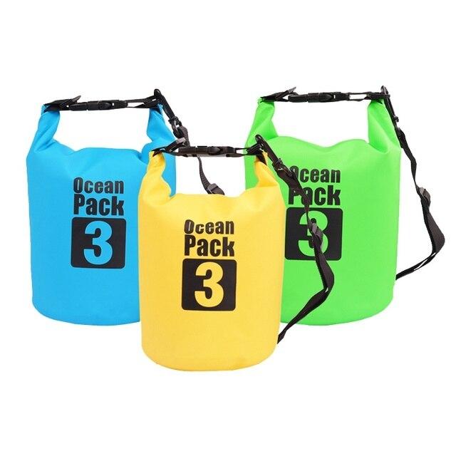 Waterproof Outdoor Swimming Kayaking Storage Bag  Dry Bag 2L//3L//5L//10L//15L//20L~
