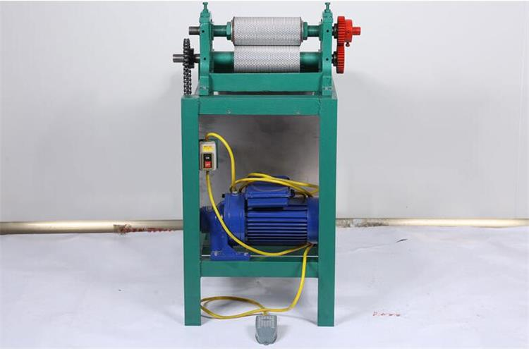 195mm Electric With Frame Beeswax Foundation Sheet Machine