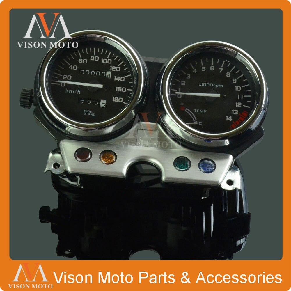 Мотоцикл спидометр часы инструмент манометры одометр тахометр для Хонда cb400 1992 1993 1994