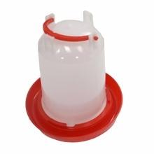 1.5 kg Chicken feeder  barrel Water bucket Quail drinking Bird equipment Waterer Feeding