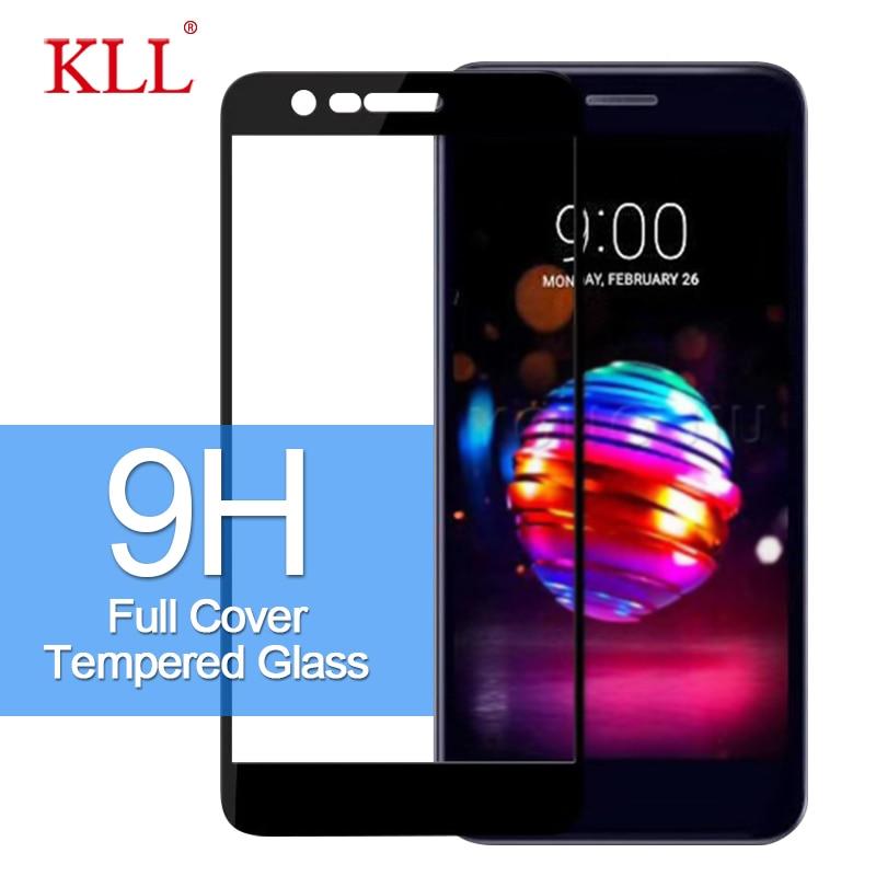 9H Full Coverage Tempered Glass For LG K10 K11 K9 K8 K7 Screen Protector For LG G7 G6 Q7 Q6 Q Stylo 4 Toughened Protection Film