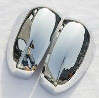 For Nissan Tiida hatchback 2008 2010 Shiny Side Door Mirror Cover Decoration 2PCS/SET