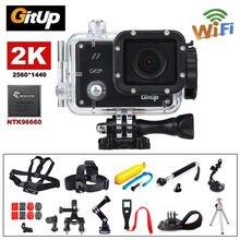 Gitup Git2P WiFi 2K 1080P 1.5″LCD Waterproof Helmet Professional Action HDMI USB Sports Video Dash Camera 170 degree Wide Angle
