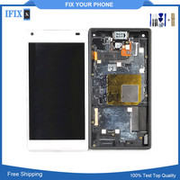 Original LCD Screen Display And Touch Digitizer With Front Frame Assembly For Sony Xperia Z5 Mini