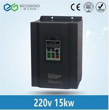 15KW 220 В однофазный вход и 380 В 3 фазы выход ПЧ/преобразователь частоты