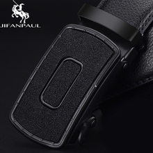 JIFANPAUL belt mens leather black automatic buckle trend youth personality business top material