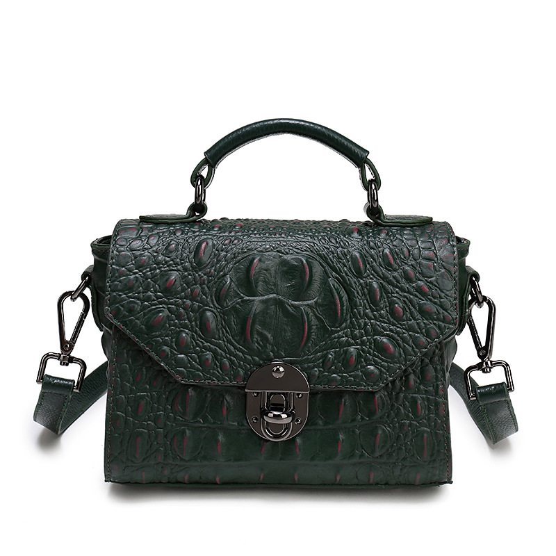2017 NEW Genuine leather bag ladies crocodile pattern handbag Women solid messenger bags women famous brand designer box bag mini wireless bluetooth 4 0 stereo headset earphone headphone for iphone for samsung
