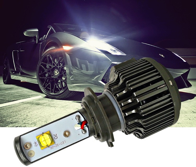 12- h7 led car motorcycle headlamp head light light source