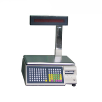 Best selling weighting scale/electronic scale with barcode printer for fruit wholesale market