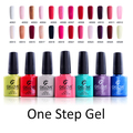 IBN 3 in 1 One Step  UV LED Gel Nail Polish Popular Color Revolutionary Soak Off High Quality Nail Art Vanish No need Base Top