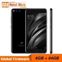 Original Xiaomi Mi6 Mi 6 6GB RAM 64GB ROM Snapdragon 835 Octa Core Mobile Phone 4G+ 5.15