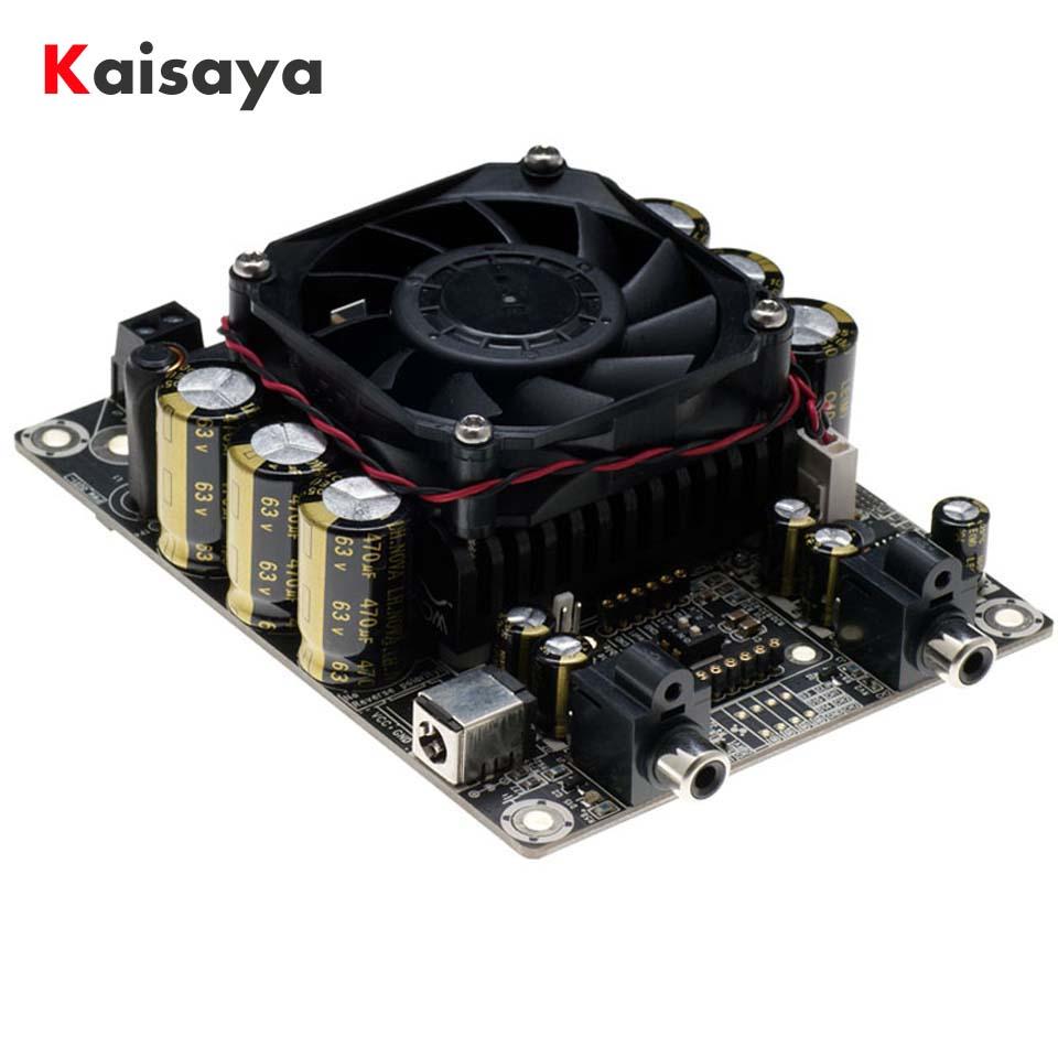 DC24V 2 canaux 100 W + 100 W 2.0 4ohm haute puissance classe D STA508 carte amplificateur audio hifi de voiture numérique