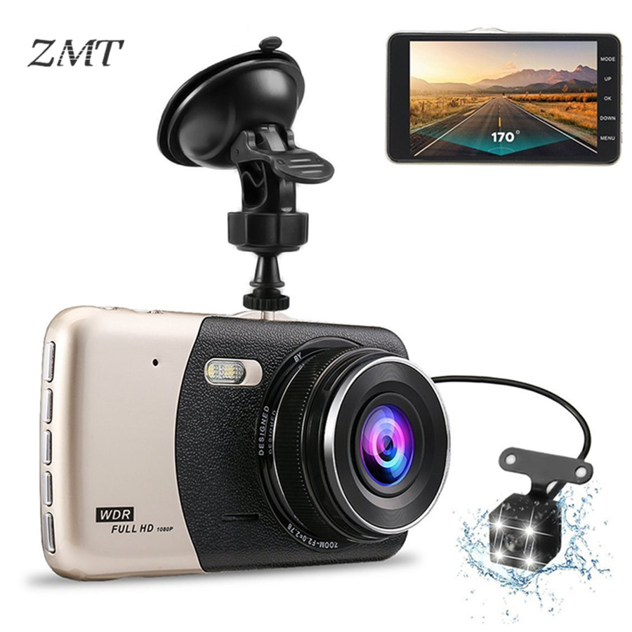 Car Traffic Recorder High Definition Night Vision 1080P Dual Lens Reversing Image Integrative Camera Car DVR Dash Camera T652Car Traffic Recorder High Definition Night Vision 1080P Dual Lens Reversing Image Integrative Camera Car DVR Dash Camera T652