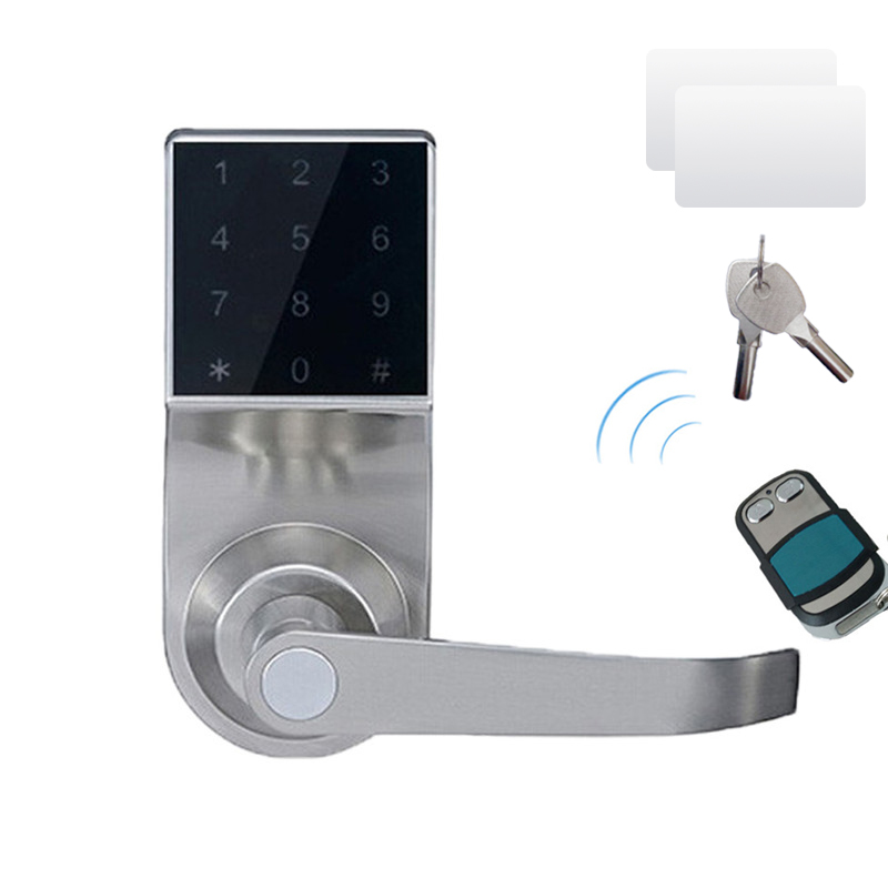 L s hide key touch remote control screen keypad password for 1 touch door lock