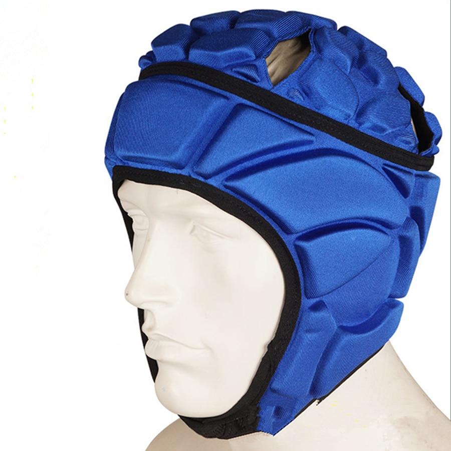 New Goalkeeper Helmet Adjustable Tense Lax Football Helmets Soccer Goal keeper Goalie Sports Safety Protector Head Protect Tools