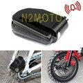 Motocicleta 6mm Anti Roubo/Segurança de Proteção Contra Roubo de Moto Scooter de Bicicleta Bloqueio de Disco Alarme Alto
