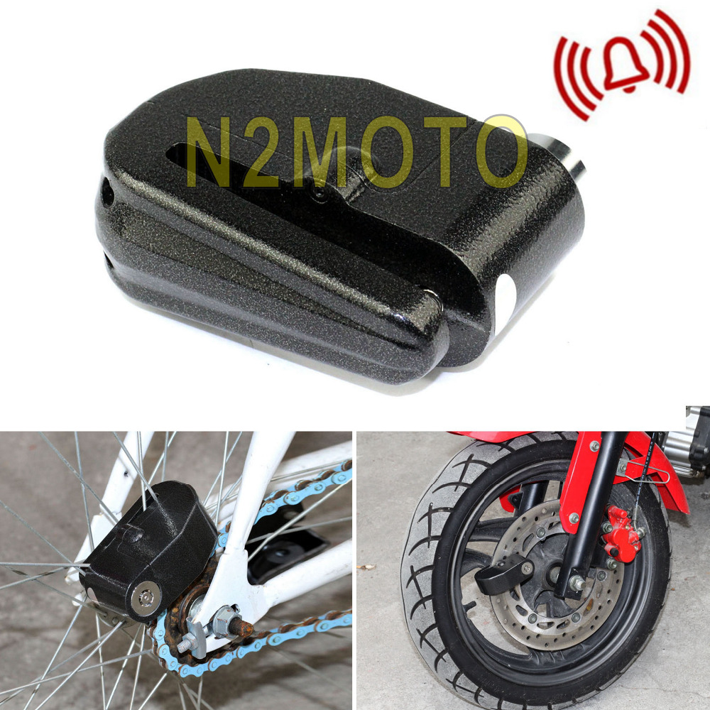 Motorcycle 6mm Anti Theft Security Motorbike Bike Disc ...