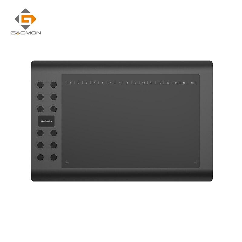 Professionnel tablette graphique pour Dessin GAOMON M106K 10x6 pouces USB Stylo Comprimés Art Numérique