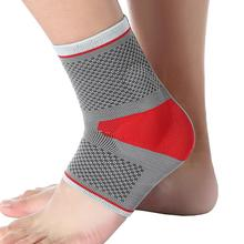 Sports Ankle Guard Pad Support Elastic Silicone Pressure Ankle Brace Basketball Riding Mountaineering Anti-Sprain