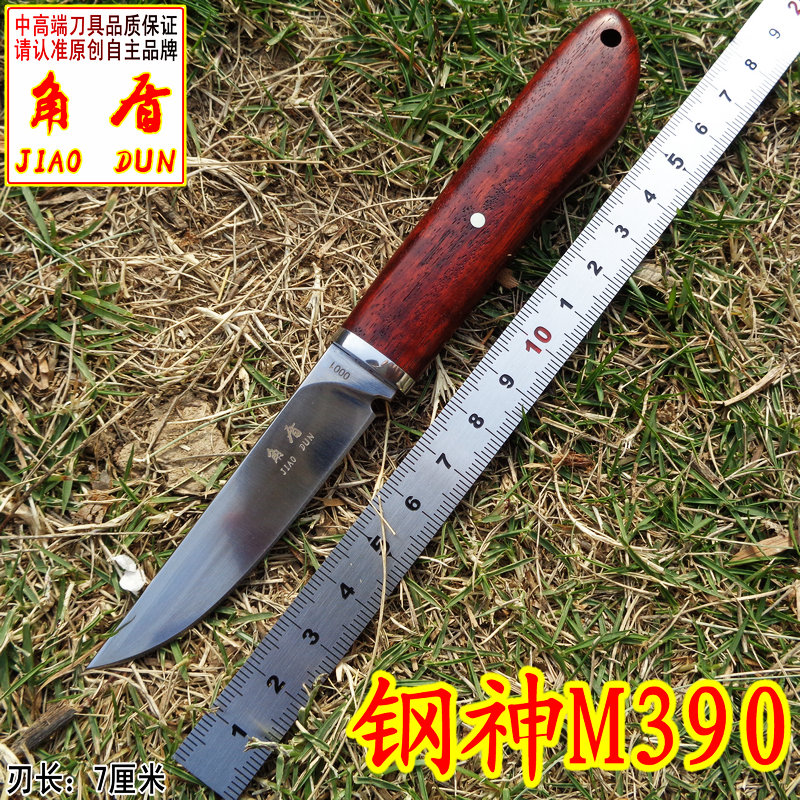 Very sharp High end Brush Finish DC53 Blade Fixed Tactical Knife Three Edge Survival Knives Fixed