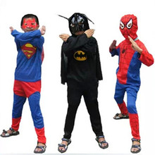 Superhero Halloween Kids Costumes