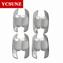 Car-styling Chrome Door Handle Inner For Toyota Hilux 2005-2014 Fortuner Innova 2008-2014 Corolla 2001-2010