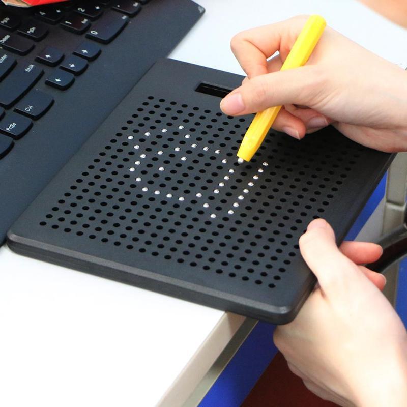 3d Draagbare Magnetisch Tekenbord Sketch Pad Tablet Met Magneet Stylus Pen Educatief Speelgoed Voor Kinderen Grappige Kinderen Speelgoed