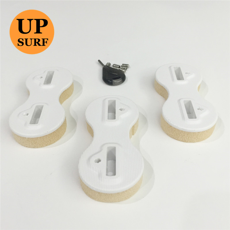 Free Shipping 5 sets sale Surfboard FCS Fins Fusion Fin Plugs 9 Degree FCS Fin Plug
