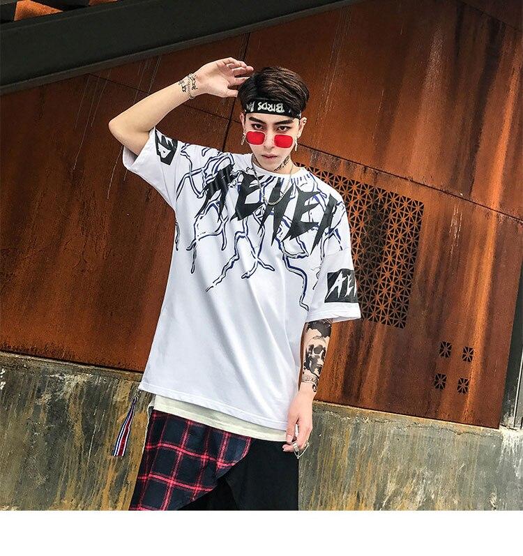 Graphic Tshirts Men Fashion Casual Short Sleeve   (13)