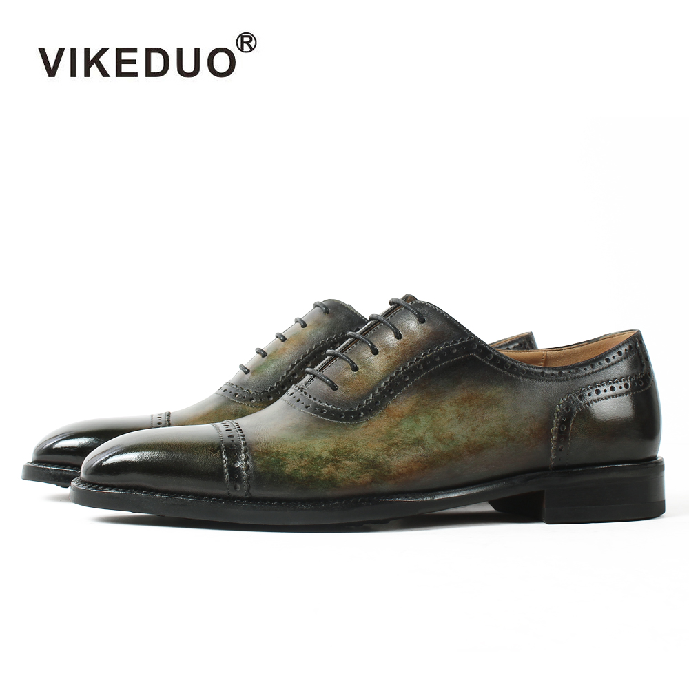 2018 Handmade Dyeing Men Leather Shoes Italy Designer Fashion Wedding Party Dance Male Dress Genuine Leather Mens Oxford Shoes 2017 men shoes fashion genuine leather oxfords shoes men s flats lace up men dress shoes spring autumn hombre wedding sapatos