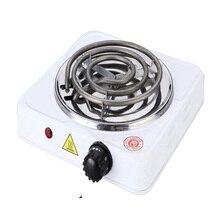 220V 500W ЕС вилка электрическая металлическая плита дома Кухня Плита Кофе нагреватель плита бытовой Пособия по кулинарии Приспособления