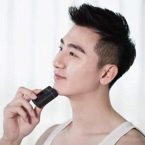 Image 4 - Новейшая Xiaomi Mijia Мужская электрическая бритва для влажного/сухого бритья IPX7 водонепроницаемый перезаряжаемый мини корпус из японской стали немецкий технический мото