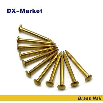 m1.2 brass nail , DIY hardware accessories nails 1.2*8mm 1.2*10mm 1.2*12mm 1.2*15mm anti rust brass nails ,