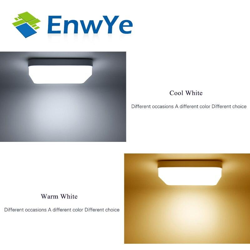 EnwYe 18W 24W 36W 48W LED Square Panel Light Surface Mounted led ceiling light AC 85 EnwYe 18W 24W 36W 48W LED Square Panel Light Surface Mounted led ceiling light AC 85-265V lampada led lamp