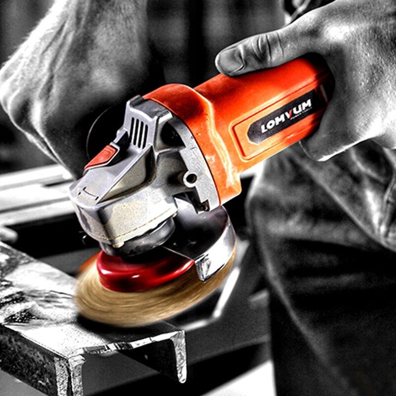 Multifunction Handheld Angle Grinder Polishing Cutting Hand Grinder