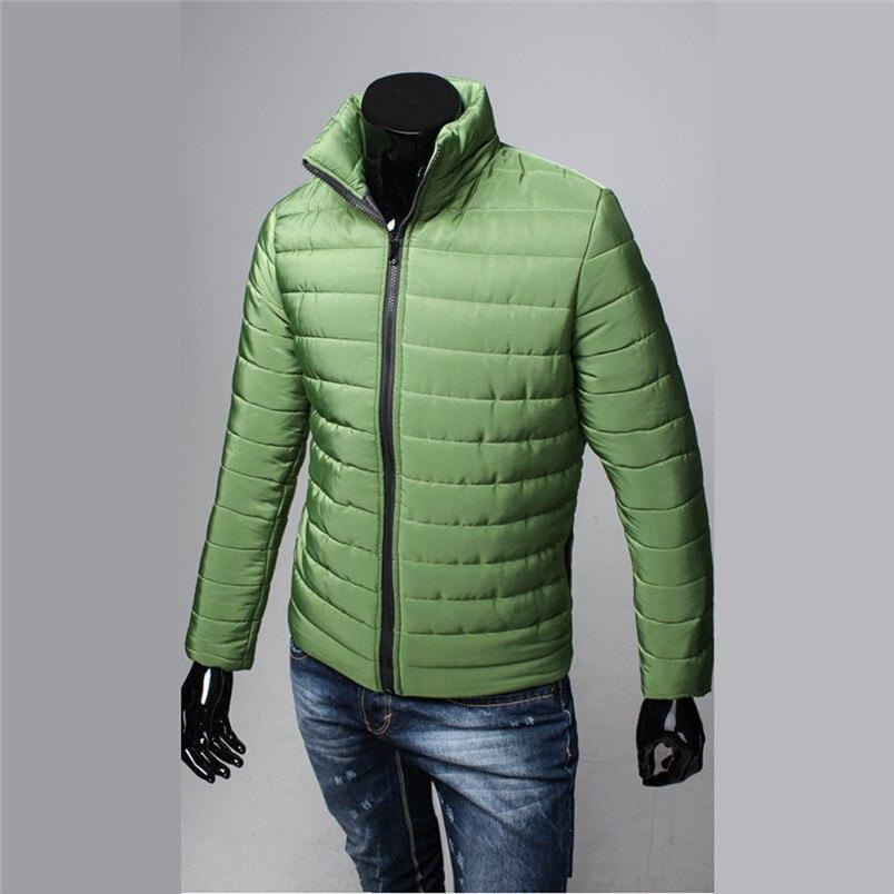 NEW Fashion Mens sports Cotton Stand Zipper Warm Winter Thick Coat Jacket Hiking Jackets Freeship #4n25 (4)