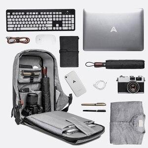 Image 2 - Рюкзак KAKA с защитой от кражи и USB портом для мужчин и женщин, водонепроницаемый деловой модный ранец для ноутбука 15,6 дюйма, школьный портфель
