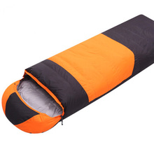 Down Sleeping Bag Outdoor Camping Sleeping Bag Autumn And Winter Single Stitching Ultralight Warm Duck Down Sleeping Bag цена в Москве и Питере