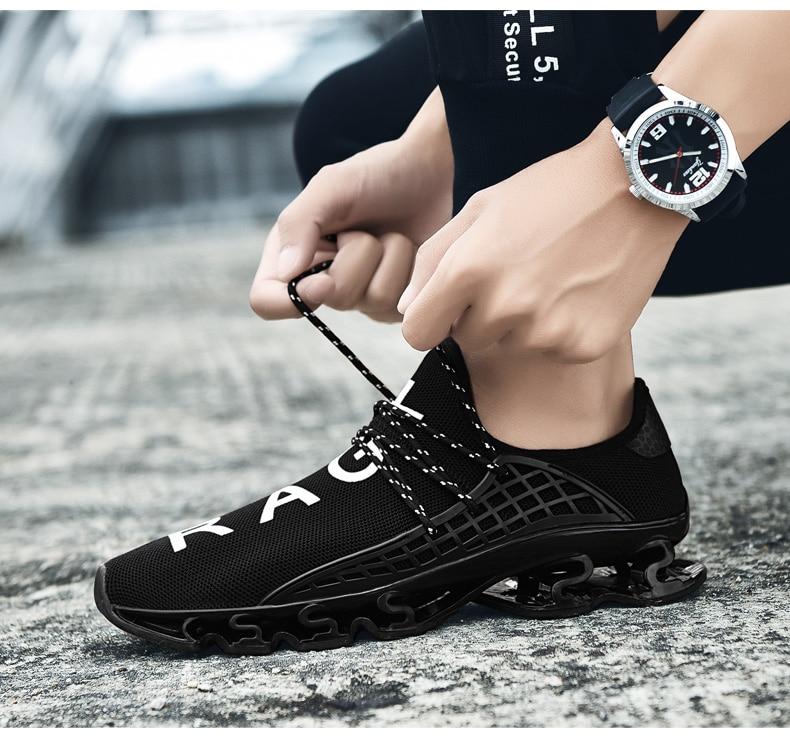 18 New Breathable QIYHONG Men Sneakers Unisex Couple Shoes Basket Femme Hard-Wearing Tenis Feminino Male Footwear Plus Size 11