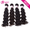 2016 ALL New Human Hair For Crochet Braid Best Selling 4pcs Brazilian Virgin Hair Weft No Shedding Brazilian Deep Wave Hair