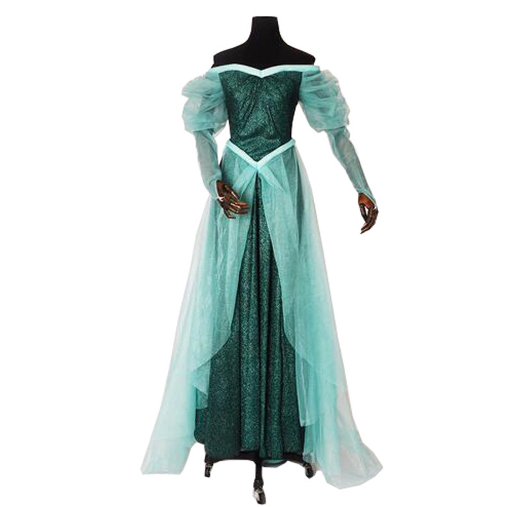 2017 Newest Ariel Cosplay Costume Princess The Little Mermaid Cosplay Dress
