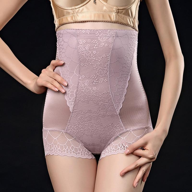 c9f215203e8 Womens Waist Trainer Shapewear Bodysuit Buttock Enhancer Short Extra Firm  Sexy Sheer Shaping Hi Waist Brief -in Control Panties from Underwear    Sleepwears ...
