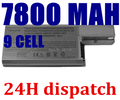 9 cells Li-ion Replacement Laptop Battery For Dell Latitude D820 D531 D531N D830 Precision M4300 M65 310-9122 312-0393 312-0401