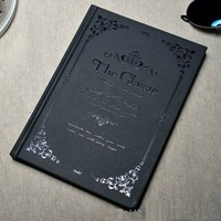 2015 New Notebook Paper School Book The Classic Vintage European Style Daily Note Good Quality Gift