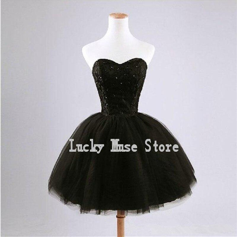 Black Cocktail Dress Vintage